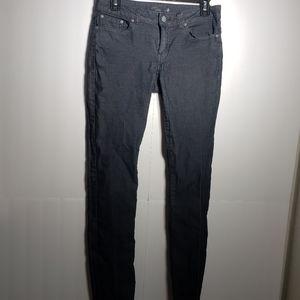 PrAna Black Skinny Jeans
